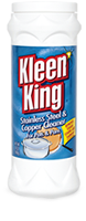 Kleen King Stainless Steel and Copper Cleaner