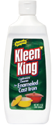 Liquid Kleen King Enameled Cast Iron Cookware Cleaner